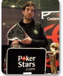 Barbosa proslavio roč'endan ujedno i pobedu na PokerStars.net EPT Warsaw