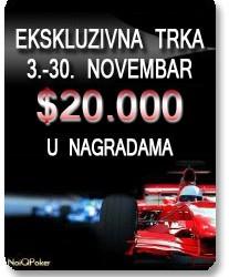 Update: Race PokerNika.com na NoIQ Poker-u - 21.Novembar