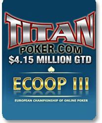 ECOOP počinje večeras na Titan Poker-u!!!