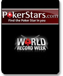 Rezultati svetskih rekorda na PokerStars