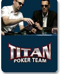 Titan Poker predstavio Online Poker tim