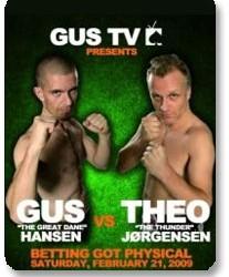Theo Jorgansen pobedio Gus Hansen-a u boxing combat-u