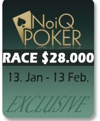 Freeroll $1.000 - RacePokerNika.com na NoIQ Poker-u