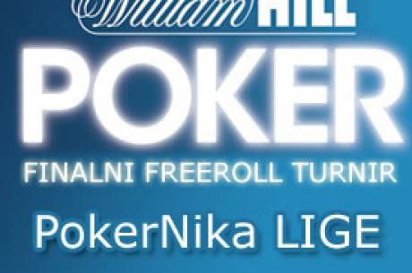 $150 Finalni Turnir LIGE na WIlliam Hill Poker-u