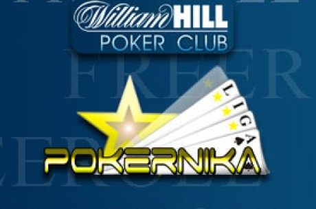 $2.20 Buy-in na William Hill Pokeru - Nedelja 16. - LIGA za Avgust