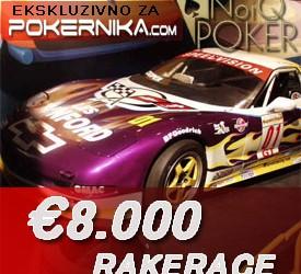 Rake Race NoIQ Poker - €8.000 ekskluzivno za igrače Pokernika.com