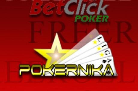 €75 Freeroll na BetClick Pokeru - Nedelja 18. - LIGA za Oktobar