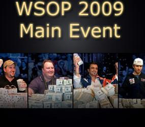 Pregled pred Finalni sto WSOP 2009 Main Event