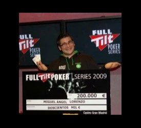 Miguel Ángel Lorenzo pobedio na Grand Final na Full Tilt Poker Series