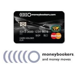 Moneybookers nudi svojim korisnicima MasterCard Moneybookers!