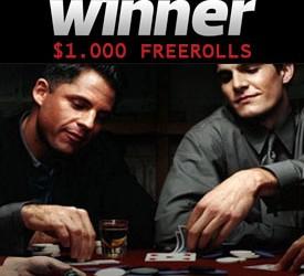 Osiguraj učešće na sledećem $1 Cash Freeroll na Winner Pokeru