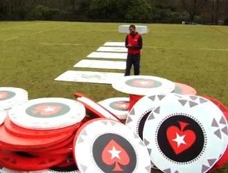 Igrači Engleskog Ragbija igraju najveću Poker Partiju na Svetu!