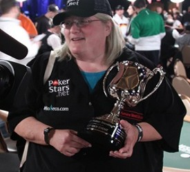 WSOP 2010: Breeze Zuckerman je primila trofej Last Woman Standing