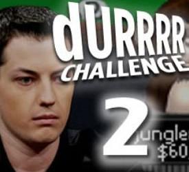 Daniel Jungleman12 Cates kaže da je Durrrr Challenge 2 - besplatan novac!