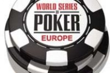 World Series of Poker Europe počeo danas!