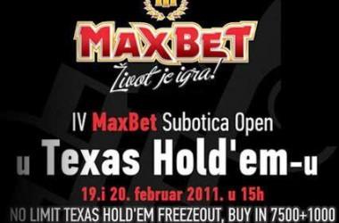MaxBet Subotica Open IV