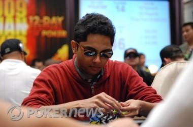 Día 4 del World Poker Tour L.A. Poker Classic 2011: Rajkumar, chip leader