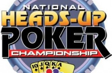 National Heads Up Championship의 라운드 1 끝