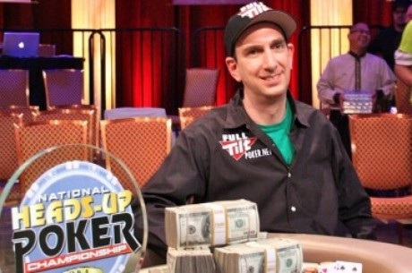 Seidel slår till på nytt - Vinner NBC National Heads-Up Championship