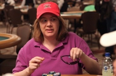 PokerNews Interview: Kathy Liebert on Hats, Massages, and the Color Purple