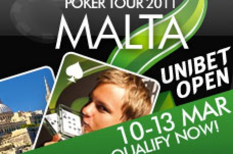 PokerNews LT ruošiasi kelionei į Unibet Open Malta