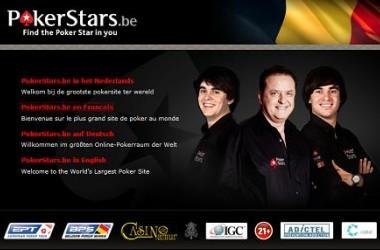 Poker en Belgique : Pokerstars lance la première room en .be