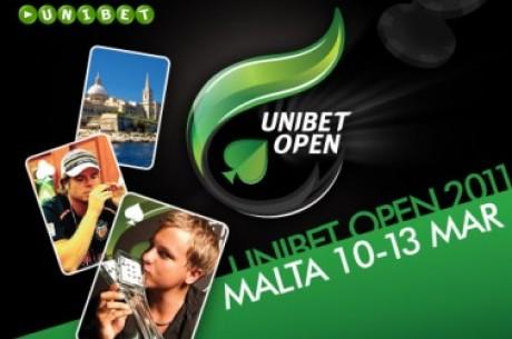 Täna algab Unibet Open Malta