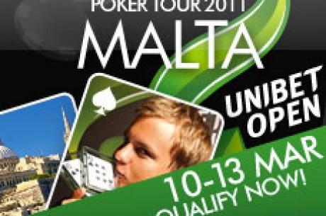 Følg Unibet Open Malta Live Her