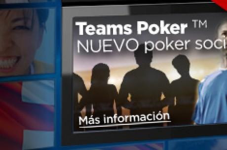 Juega al poker y haz apuestas deportivas con los torneos Team Poker de 888