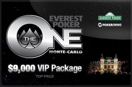 Αποκλειστικά τουρνουά για το $9,000 Everest Poker One Monte Carlo