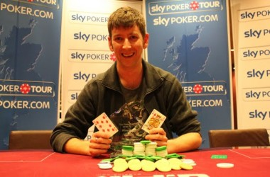 Simon Jack Wins Sky Poker Tour Luton