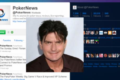PokerNews.com feirer 20.000 følgere på Twitter