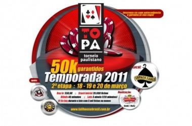 Segunda Etapa do Torneio Paulistano no Espaço Zahle - R$50K Garantidos