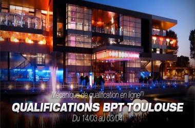 BPT Toulouse : 15 tickets Super-Sat à 250€ tous les jours sur Barrièrepoker.fr