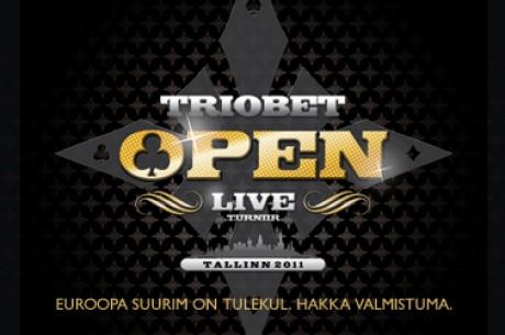 Kvalifitseeru Triobet Open megaturniirile juunis!