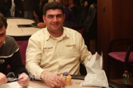 Закончился третий день соревнований Евро покер...