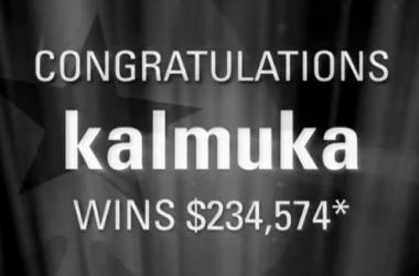 Покер видео: Sunday Million победата на kalmuka