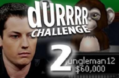 jungleman12 с над $1 милион напред в Durrrr Challenge