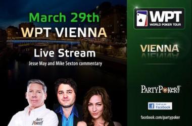 Прямая трансляция Финального стола WPT в Вене...