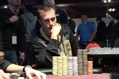 Dmitry Gromov chip leader en la mesa final del WPT Viena