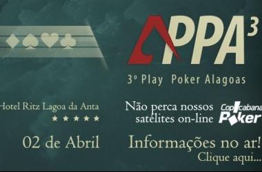 Federação Alagoana de Texas Hold'em Promove o 3º Play Poker Alagoas - R$50K Garantidos