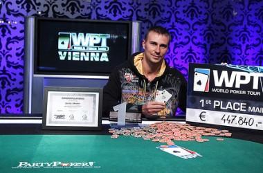 Дмитрий Громов - победитель этапа WPT Вена!