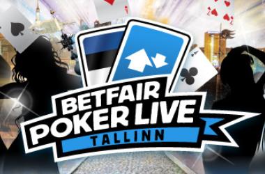 Класирайте се за Betfair Poker LIVE! в Талин