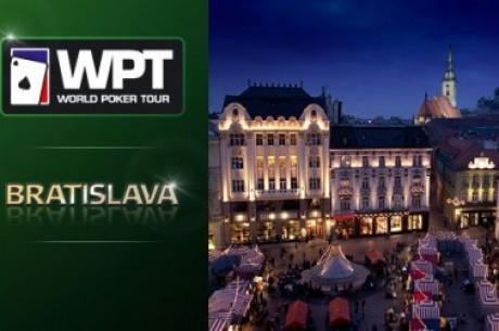 WPT Bratislava har inletts och idag spelas dag 1b