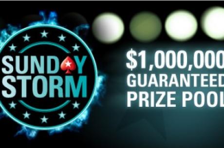 PokerStars의 Sunday Storm 결과!