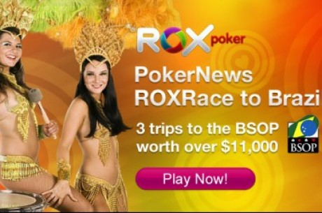 Το Rox Race ξεκινάει και σας στέλνει Βραζιλία