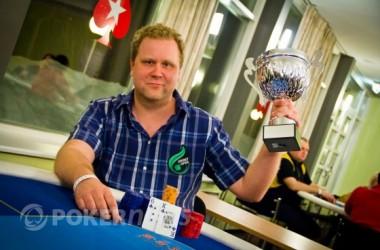 Eesti pokkerikarika võitis Imre Leibold