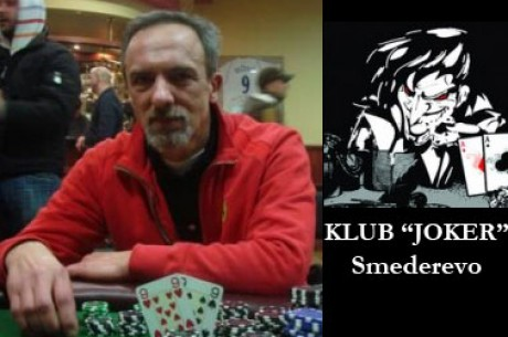 Dragan Golić osvojio još jedan Mesečni Turnir u Klubu Joker u Smederevu - Intervju