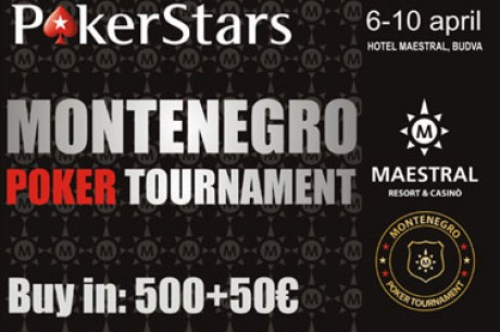 Sutra počinje Main Event PokerStars Montenegro Poker Turnira