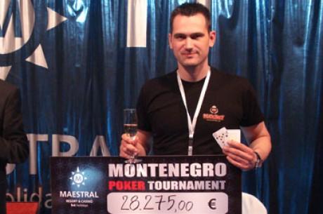 DJORDJE JOVANOVIĆ Osvojio PokerStars Montenegro Main Event (28,275 EUR)